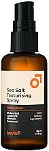 Parfumuri și produse cosmetice Spray texturat cu sare pentru păr, fixare medie - Be-Viro Salty Texturizing Spray Medium Hold