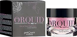 Parfumuri și produse cosmetice Cremă hidratantă de noapte pentru față - PostQuam Orquid Eternal Moisturizing Night Cream