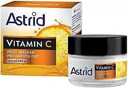 Parfumuri și produse cosmetice Cremă antirid cu vitamina C, de zi - Astrid Vitamin C Daily Anti-Wrinkle Cream