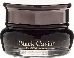 Parfumuri și produse cosmetice Cremă cu extract de caviar negru pentru față - Holika Holika Black Caviar Anti-Wrinkle Cream
