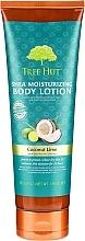 "Loțiune pentru corp""Cocos și Lime"" - Tree Hut Shea Moisturizing Body Lotion Coconut Lime — Imagine N1"