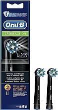 Parfumuri și produse cosmetice Rezervă pentru periuța de dinți Cross Action CA EB50 Black Edition - Oral-B