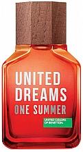 Parfumuri și produse cosmetice Benetton United Dreams One Summer 2019 - Apă de toaletă (tester cu capac)