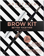 Parfumuri și produse cosmetice Set - Anastasia Beverly Hills Better Together Brow Kit Soft Brown (pencil/0.08g + gel/2.5g)