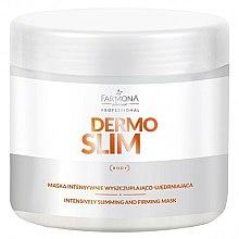Parfumuri și produse cosmetice Mască pentru pierderea în greutate intensivă și întărire - Farmona Professional Dermo Slim Intensively Slimming And Firming Mask