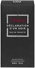 Cartier Declaration DUn Soir - Apă de toaletă — Imagine N4