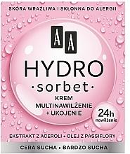 Parfumuri și produse cosmetice Cremă nutritivă pentru față - AA Hydro Sorbet Moisturising & Nutrition Cream