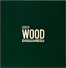 Parfumuri și produse cosmetice Dsquared2 Green Wood Pour Homme - Set (edt/30ml + sh/gel/50ml)