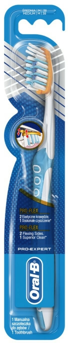 Periuță de dinți, albastru - Oral-B Pro-Expert Pro-Flex 38 Medium — Imagine N1