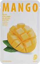 """Parfumuri și produse cosmetice Mască de țesut """"Mango"""" - The Iceland Mango Mask"""