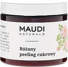 """Parfumuri și produse cosmetice Scrub de zahăr pentru corp """"Trandafir"""" - Maudi"""