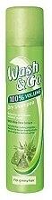 Parfumuri și produse cosmetice Șampon uscat cu extrcat de aloe vera pentru păr gras - Wash&Go