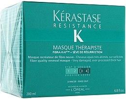 Mască reparatoare pentru păr deteriorat - Kerastase Resistance Therapist Renewal Mask — Imagine N2