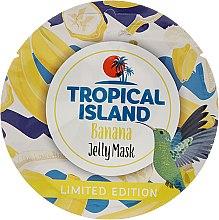 "Parfumuri și produse cosmetice Mască de față ""Banana"" - Marion Tropical Island Banana Jelly Mask"