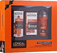Parfumuri și produse cosmetice Set - L'Oreal Paris Men Expert (deo/50ml + cr/50ml + eye/roller/10ml)