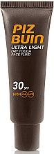 Parfumuri și produse cosmetice Fluid pentru față - Piz Buin Ultra Light Dry Touch SPF30