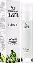 """Parfumuri și produse cosmetice Cremă de zi pentru față """"Emerald"""" - SM Collection Crystal"""