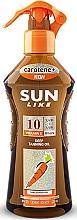 Parfumuri și produse cosmetice Ulei-spray pentru bronzare rapidă SPF 10 - Sun Like Deep Tanning Oil SPF 10 Pump