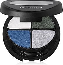 Parfumuri și produse cosmetice Fard de pleoape - Flormar Compact Quartet Eye Shadow
