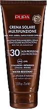 Parfumuri și produse cosmetice Cremă protecție solară pentru corp SPF 30 - Pupa Multifunction Sunscreen Cream