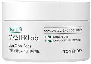 Patch-uri pentru față - Tony Moly Derma Master Lab. Cica Clear Pads — Imagine N1
