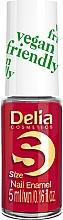 Parfumuri și produse cosmetice Lac de unghii - Delia Cosmetics S-Size Vegan Friendly Nail Enamel