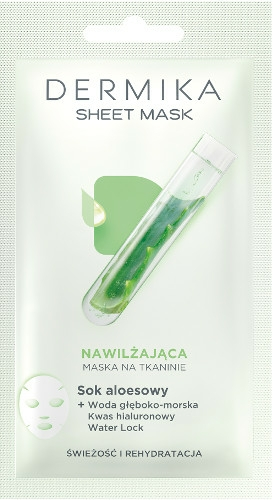 Mască de față - Dermika Sheet Mask — Imagine N1