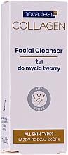 Parfumuri și produse cosmetice Gel cu colagen de curățare pentru față - Novaclear Collagen Facial Cleanser