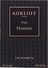 Parfumuri și produse cosmetice Korloff Paris Pour Homme - Apă de parfum (tester)