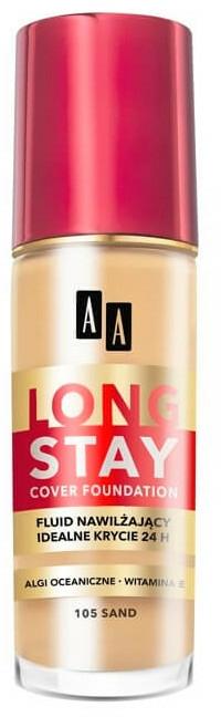 Fond de ten hidratant lichid - AA Cosmetics Long Stay Cover Fluid — Imagine N1