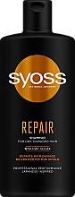 Parfumuri și produse cosmetice Șampon cu alge marine Wakame pentru păr uscat și deteriorat - Syoss Repair Shampoo
