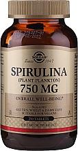 Parfumuri și produse cosmetice Spirulina - Solgar Spirulina Plant Plankton