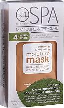 Parfumuri și produse cosmetice Set - BCL SPA 4 Step Starter Kit Milk Honey (scr/14g + salt/28g + mask/15ml + cr/15ml)