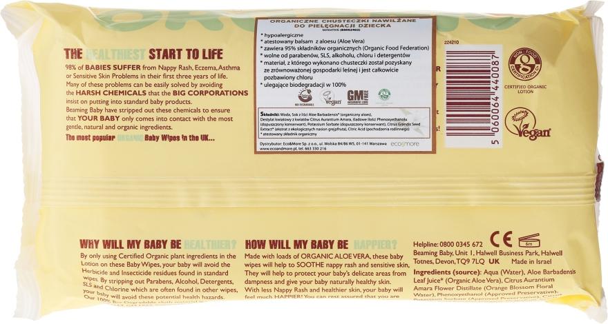 Șervețele umede pentru bebeluși - Biolane Baby Org Baby Wipes — Imagine N2