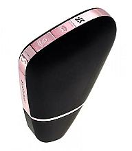 Parfumuri și produse cosmetice Vacuum clitoral stimulator, negru - Satisfyer Love Triangle