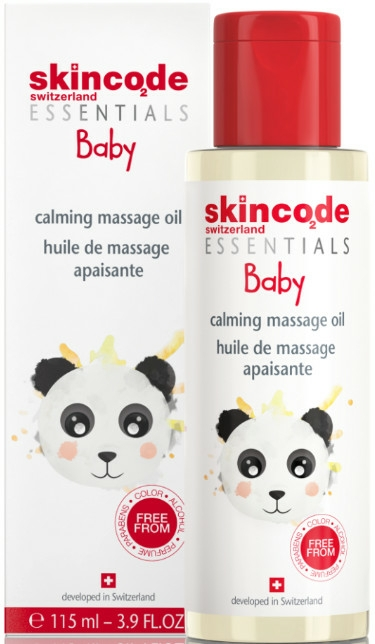 Ulei pentru masaj - Skincode Baby Calming Massage Oil — Imagine N1