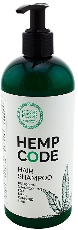 Șampon cu ulei de cânepă - Good Mood Hemp Code Hair Shampoo