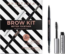 Parfumuri și produse cosmetice Set - Anastasia Beverly Hills Better Together Brow Kit Taupe (pencil/0.085g + gel/2.5ml)