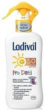 Parfumuri și produse cosmetice Spray pentru bronzare, pentru copii - Ladival SPF50