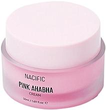 Parfumuri și produse cosmetice Cremă facială cu extract de pepene verde, acizi AHA și BHA - Nacific Pink AHA BHA Cream