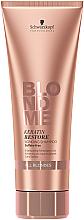 Șampon regenerant cu keratina pentru păr blond - Schwarzkopf Professional BlondMe Keratin Restore Blonde Shampoo — Imagine N2
