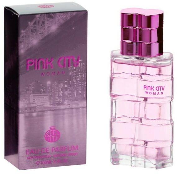 Real Time Pink City - Apă de parfum  — Imagine N1