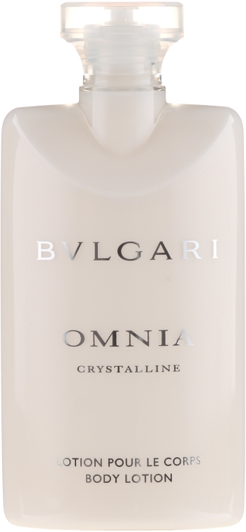 Bvlgari Omnia Crystalline - Set (edt/65ml + b/lot/75ml + sh/gel/75ml + pouch) — Imagine N3