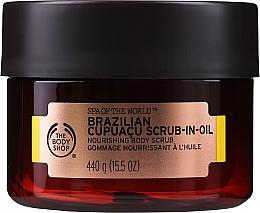 Parfumuri și produse cosmetice Scrub de ulei pentru corp - The Body Shop Brazilian Cupuacu Scrub-in-oil