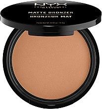 Parfumuri și produse cosmetice Pudra bronzantă mată - NYX Professional Makeup Matte Bronzer