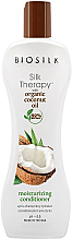 Parfumuri și produse cosmetice Balsam hidratant cu ulei de cocos - Biosilk Silk Therapy Coconut Oil Moisture Conditioner
