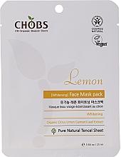 Parfumuri și produse cosmetice Mască pe bază de lămâie pentru față - Chobs Lemon Mask Pack