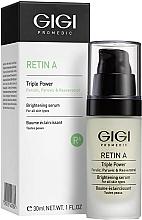 Parfumuri și produse cosmetice Ser cu efect de albire pentru față - Gigi Retin A Brihtening Serum