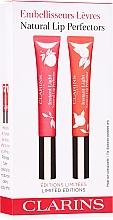 Parfumuri și produse cosmetice Set - Clarins Natural Lip Perfector Set Limited Edition (lip/gloss/2x12ml)