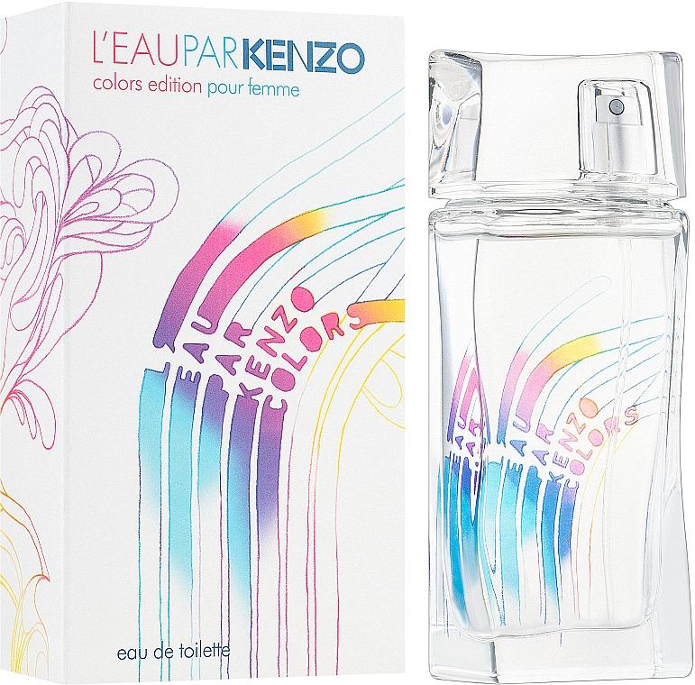 Kenzo Leau Par Colors Pour Femme - Apă de toaletă — Imagine N2
